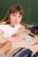 SCHOOLCHILD Primary school, grade 4_5 class.