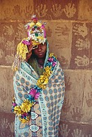 Tribal bride , Dadra Nagar U.T , India