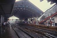 Railway Station , Bandra , Bombay Mumbai , Maharashtra , India