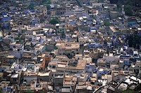 Aerial view of Jodhpur , Rajasthan , India