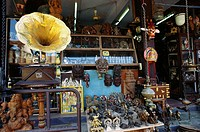 Antique Shop in Jews Suburb , Cochin , Kerala , India