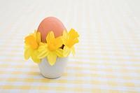 Festive spring eggcup