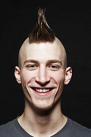 Young man with mohawk (thumbnail)