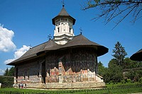 Church Of The Annunciation, Moldovita Monastery, Moldovita, Southern Bucovina, Moldavia, Romania