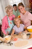 Generational family baking