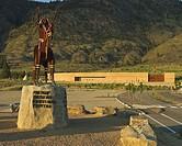 Gate at NK´MIP Desert Cultural Centre, Osoyoos, BC