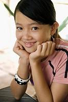 Girl. An Binh. Mekong Delta. Vietnam