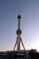 Uzbekistan, Tashkent, TV tower