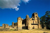 Ethiopia, Gondar, Fasiladas' palace
