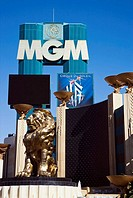 MGM Grand Hotel and Casino, Las Vegas Strip, Las Vegas, Nevada, USA