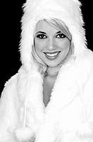 Fuzzy Snow Bunny