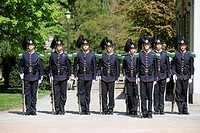 royal guard, royal guards, guard, guards, parliament, oslo, norway