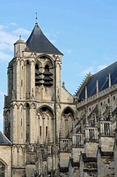 Bourges Cathedral (1195-1270), UNESCO World Heritage Site, Bourges, France