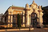 Entrance to Royal Palace, Budapest, Hungary