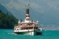 ´Uri´ paddle steamer. Lake Lucerne. Switzerland