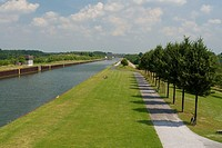 Datteln_Hamm canal, Lunen, North Rhine_Westphalia, Germany, Lünen