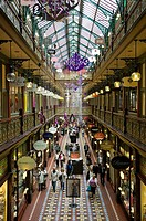 Australia - New South Wales (NSW) - Sydney: Interior of the Strand Arcade