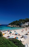 Cala Llombarts Bay, Majorca, Balearic Islands, Spain, Europe