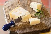 Parmesan and a cheese knife