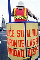 Traffic police. Lima. Peru