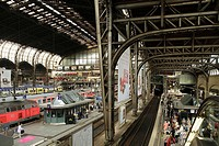 Central Station (Hauptbahnhof), Hamburg, Germany