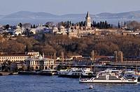 View of Topkapi Palace, Istanbul, Turkey