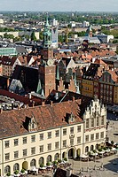 View over Wroclaw, Silesia, Poland, Europe