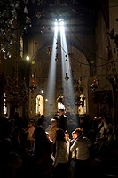 Church of the Nativity, Bethlehem city centre, West Bank, Palestine, Israel, Middle East