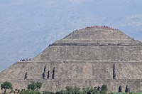 Pyramid of the Sun, Teotihuacan, Mexico, North America