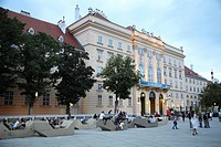 Museum Quarter, Vienna, Austria, Europe