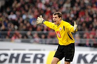 FC Hansa Rostock goalkeeper Stefan WAeCHTER during a football match