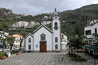 Ribeira Brava Church, Madeira, Portugal, Atlantic Ocean
