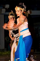 Ramayana Ballet Dancers, Yogyakarta, Java, Indonesia