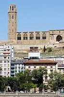 Seu Vella (old cathedral), Lleida. Segria, Catalonia, Spain