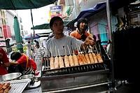 Market stall/ Asia