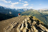 Summit of Maennlichen, Bernese Oberland, Switzerland