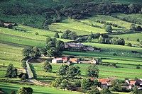 North Yorkshire, England, Rural village