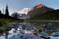 Mount Edith Cavell, Cavell Lake, Jasper National Park, Alberta, Canada