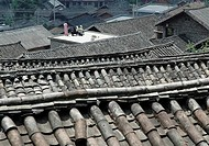Traditional Houses In Guizhou,China