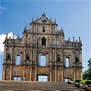 Ruins of St. Paul,Macao,China