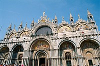 Italy _ Venice _ Place Saint Mark _ The Basilica of Saint Mark