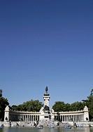 Alfonso XII Monument in Retiro Park, Madrid, Spain