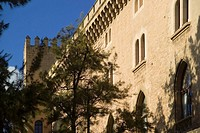 Almudaina Palace, Palma de Mallorca Spain, Balearic Islands, Europe