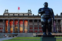 Bronze Sculpture Adam by Fernando Botero, Lustgarten, Berlin, Germany