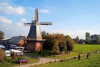 Windmill, Aschwarden, Lower Saxony, Germany