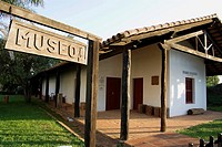 Paraguay. Jesuits Reductions.Museum of  Reduction of Santiago