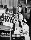 cucina twa annessa all´aeroporto, 1955