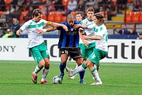 adriano,milano 01_10_2008,champions league 2008/2009,inter_werder 1_1,photo paolo bona/markanews