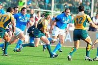 matt giteu,padova 08 11 2008 ,rugby test match italy_australia 20_30 ,photo paolo bona/markanews
