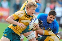 lachie turner ,padova 08 11 2008 ,rugby test match italy_australia 20_30 ,photo paolo bona/markanews